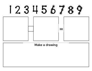 Touch Number Math Mat