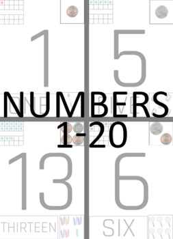Touch Numbers Work Book