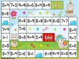 Touch Point Addition Game