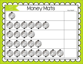 Touch Point Money Mats {Level 2}