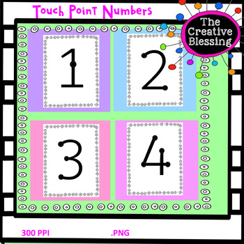 Touch Point Numbers
