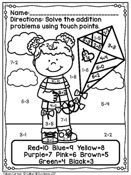 Touch Point Worksheet Spring