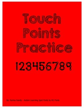 Touch Points Practice Printable