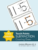 Touch Points Subtraction: Counting Down (Differences with
