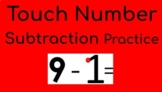 Touch Subtraction Practice for Distance Learning Google Slides