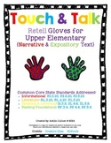 Touch & Talk - Retell, Summarize, Review Text with Gloves