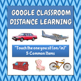 Touch The One You Sit (On/In) - Google - Distance Learning