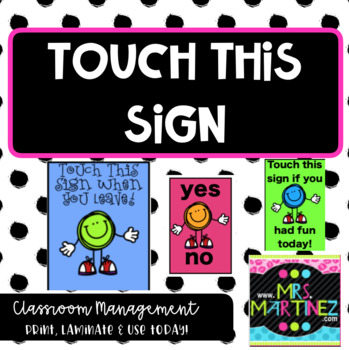Touch This Sign