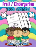 Touch and Read beginner book- MY CAR