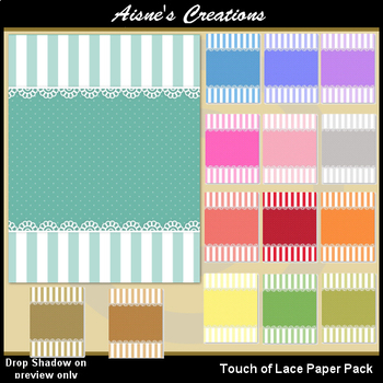 Touch of Lace Paper Pack