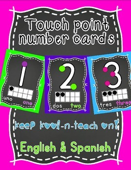 Touch point numbers-Bilingual