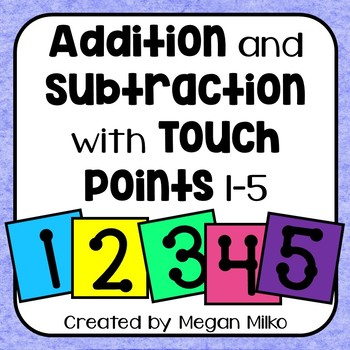 Touch points: simple addition and subtraction with touchpo