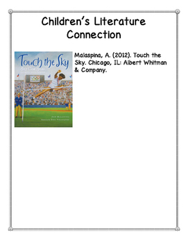Touch the Sky: Alice Coachman, Olympic High Jumper--Reading Response