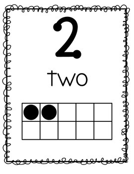 TouchMath Classroom Posters