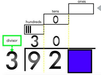 TouchMath Division Mimio