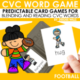 Football!   A CVC Memory Match and Game