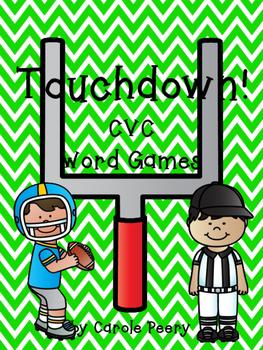 Touchdown! CVC Word Games