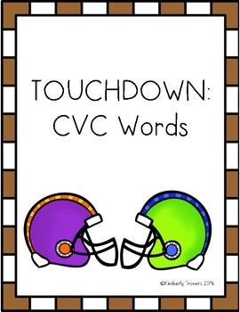 Touchdown: CVC Words