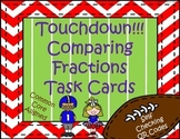 Touchdown! Comparing Fractions Task Cards