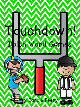 Dolch Word Games Touchdown!