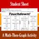 Touchdown! - Finding Vertices of Quadratics - 4 Math-Then-Graph Activities