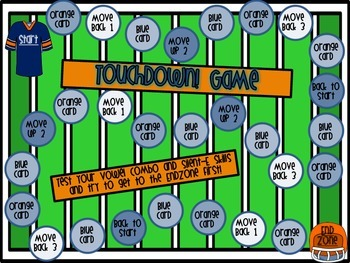 Touchdown Game! (Silent E and Vowel Combinations)