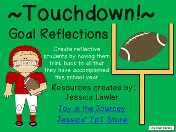 Touchdown! Goal Reflection FREEBIE