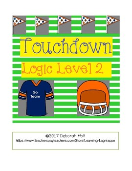 Touchdown! Logic Level 2