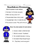 Touchdown Pronouns