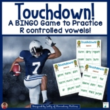 R Controlled Vowels - Football Themed BINGO Game