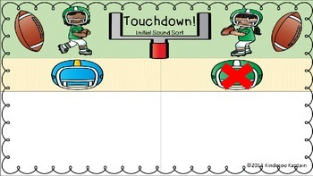 Touchdown Sounds Sort and More!