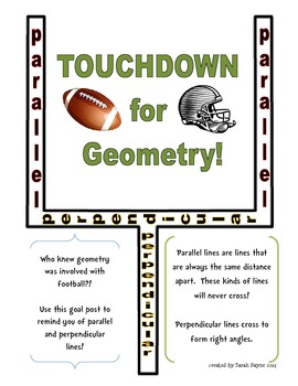 Touchdown for Geometry!
