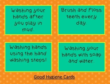 Touchdown to good hygiene!
