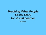 Touching Other People Social Story for Visual Learners