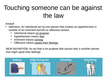 Touching Someone Can Sometimes be Against the Law- student review