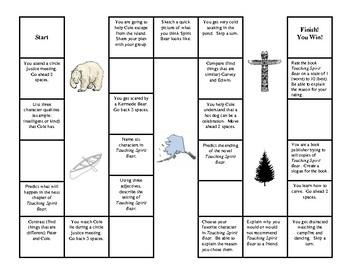 Touching Spirit Bear Board Game