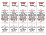 Touching Spirit Bear edition of Bookmarks Plus—Fun Freebie/Handy Reading Aid!