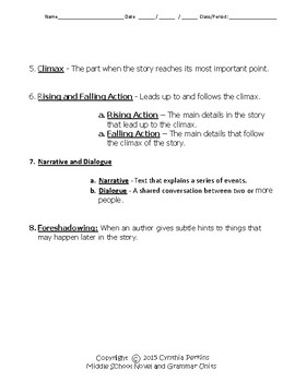 Touching Spirit Bear Complete Literature and Grammar Unit