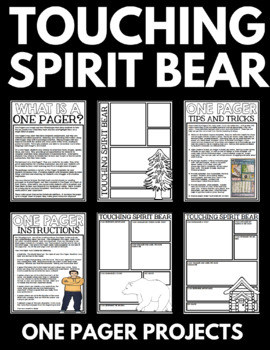 spirit bear novel study unit questions and activities touching spirit bear novel study unit questions and activities