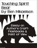 Touching Spirit Bear Essay on Author's Craft