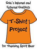 """Cole's Conflicts"" T-Shirt Activity for Touching Spirit Bear"