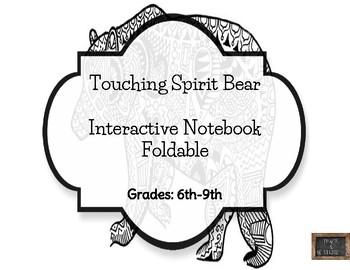 Touching Spirit Bear Interactive Notebook Foldable