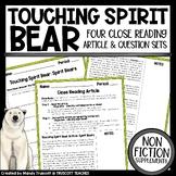 Touching Spirit Bear ... Nonfiction Articles to Supplement the Novel