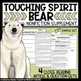Touching Spirit Bear: Nonfiction Articles to Supplement the Novel