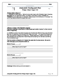Touching Spirit Bear Novel Study Guides Prologue to Chapter 5-Common Core