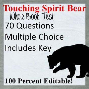 Touching Spirit Bear Test (Editable)