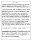 Touching Spirit Bear Totem Poles Informational Article and Questions