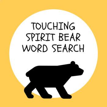 Touching Spirit Bear Word Search