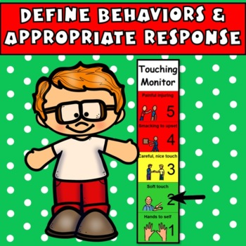 Touching Visual: Appropriate Physical Contact/Reduce Violence(Autism, Aspergers)