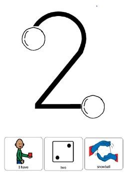 Touchmath Numbers 1-5 Snowball Book